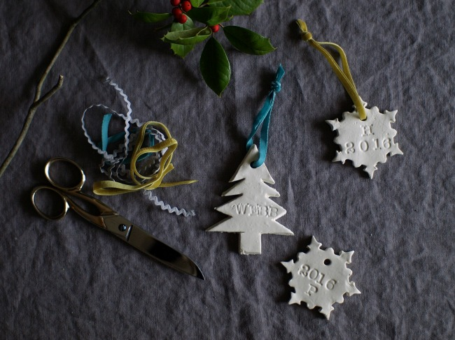 This Little Miggy || Easy Homemade Ornaments