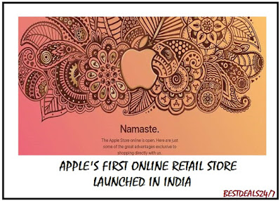Apple's first online retail Store launched in India