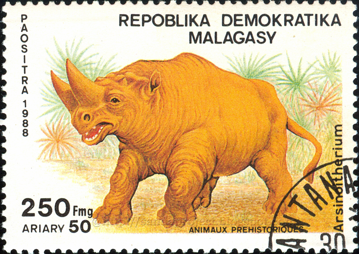Image result for Arsinoitherium