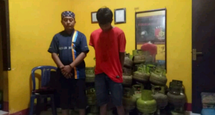 Curi 139 Tabung Gas, Dua Warga Sinjai Utara Diciduk Polisi