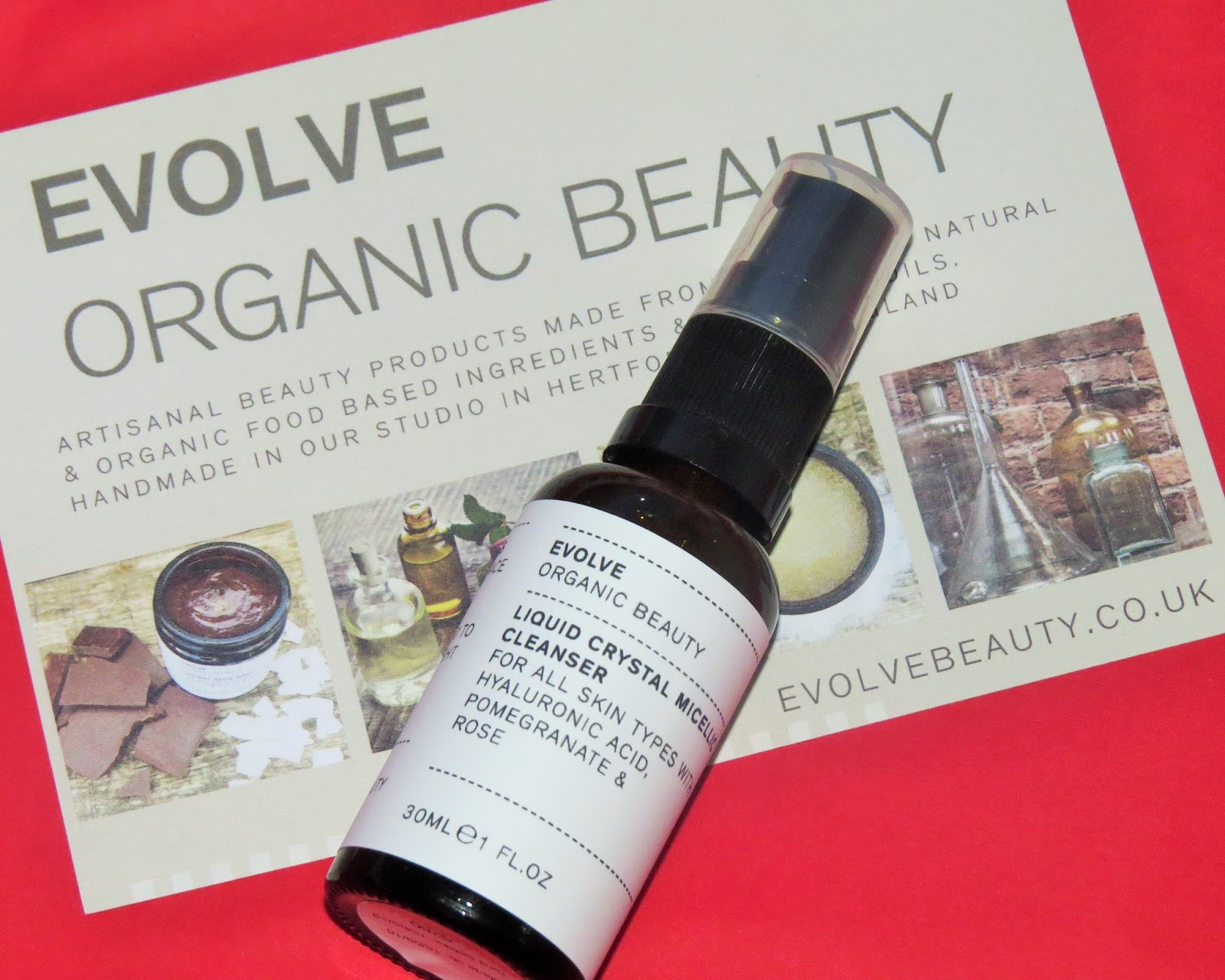 Liquid Crystal Micellic Cleanser by Evolve Organic Beauty #3