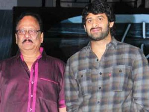 Krishnamraju Clarifies About Prabhas Marriage
