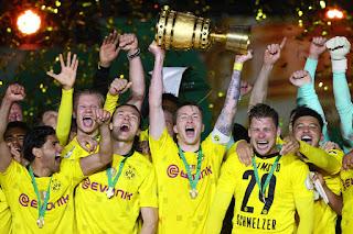 borussia dortmund campeao copa da alemanha 2021