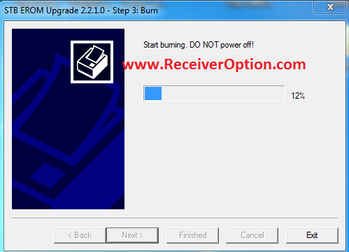 HOW TO RECOVER DEAD ALI3510D RECEIVER BY LOADER