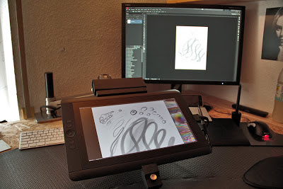 Wacom Cintiq 13hd Ergotron Lx Arm Solution