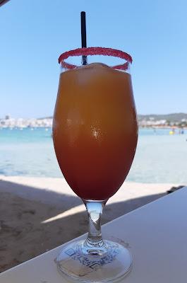 Comiendo en Es Puetó - Ibiza