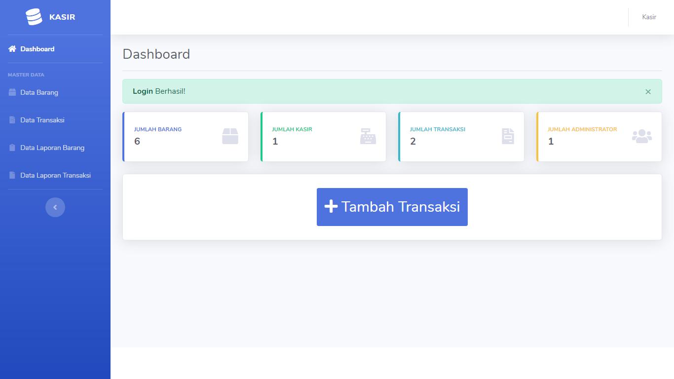 Aplikasi Kasir Toko Pondok Pesantren - SourceCodeKu.com