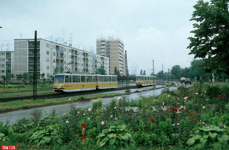 Fototeca Banatului: Hans Oerlemans la Timișoara: tramvaie