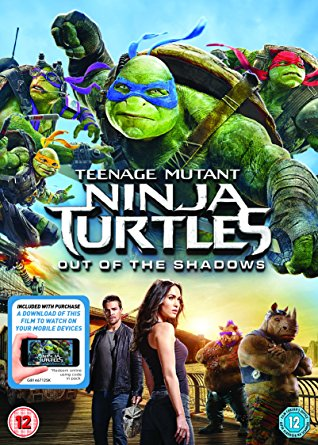The Brick Castle Teenage Mutant Ninja Turtles Out Of The Shadows Dvd Review