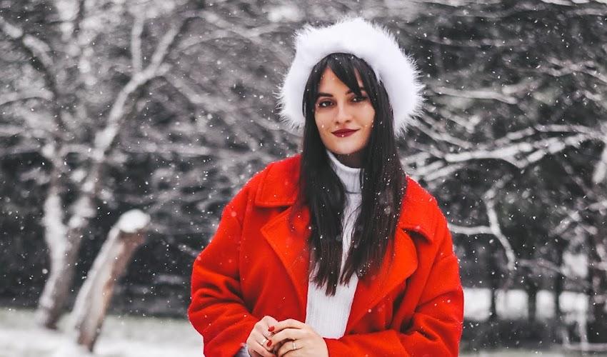 Czerwony płaszcz oversize - poznaj moją ulubioną zimową stylizacje