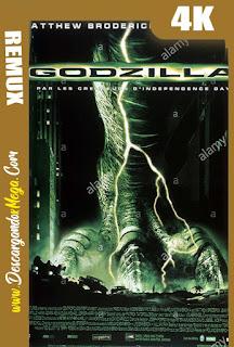 Godzilla (1998) BDREMUX 4K UHD [HDR] Latino-Ingles