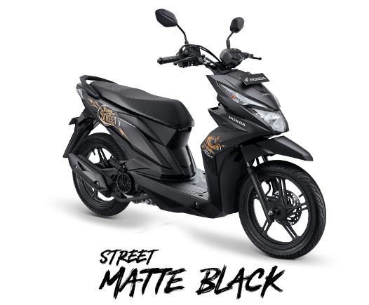 Honda Beat Street terbaru tahun 2019 street mate black