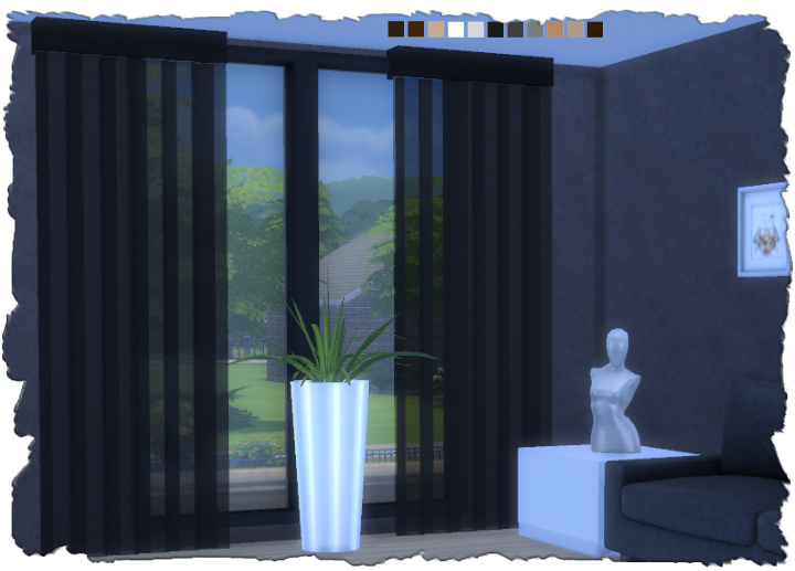 My Sims 4 Blog Transparent Blinds By Devilicious