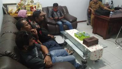 Hari pertama Kunjungan, Kinerja Camat Bathin Solapan Menuai Kritikan Dari Ormas Bidik.
