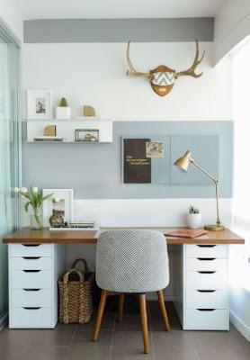 Kerja dari rumah Lebih Produktif Dengan Ide Dekorasi Ini