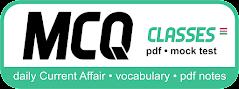 MCQ CLASSES