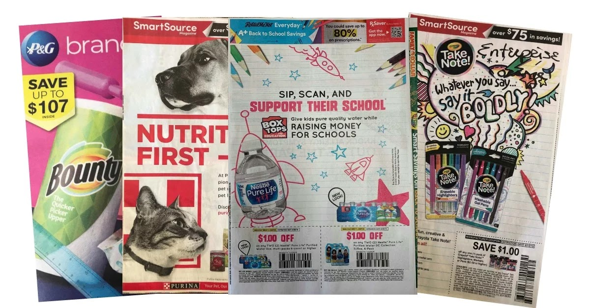 The Target Saver Sunday Coupon Inserts Save On Five Star Kleenex Cetaphil More At Target