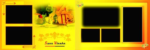 Creative Wedding Album Design 6