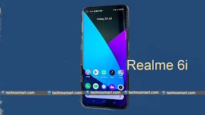 realme 6i front realme 6i full review