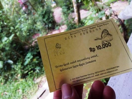 Harga Tiket Taman Kupu Kupu Bandar Lampung
