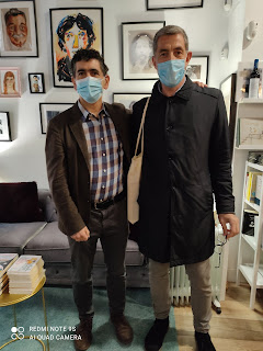 Juan Mayorga y Ernesto Calabuig