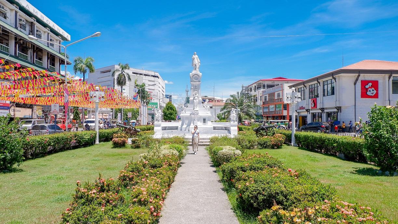 beautiful park of Rizal Park