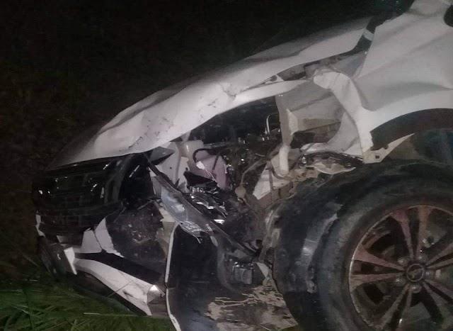 Kecelakaan Minibus Vs Beat di Merangin, 1 Orang Meninggal