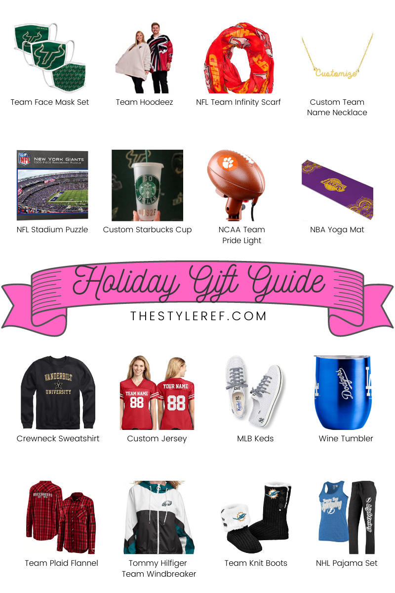 sports fan holiday gift guide