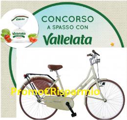 Logo Concorso ''A spasso con Vallelata'' : vinci 90 biciclette Olanda Masciaghi