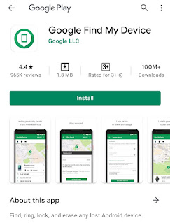 Download Find My Device di Play Store