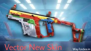 Pubg mobile session 13 vector gun skin, Pubg mobile Season 13 gun skins, season 13 skins, season 13 Royale pass Leaks, new gun skins
