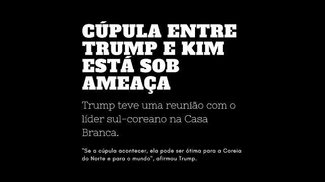 Donald Trump, Kim Jong-un, Coreia do Norte