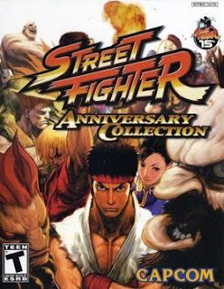 Street Fighter Anniversary Collection PS2 ISO