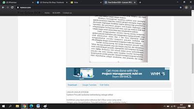 Merubah Gambar (Isi Paragraph) ke Text Terbaru