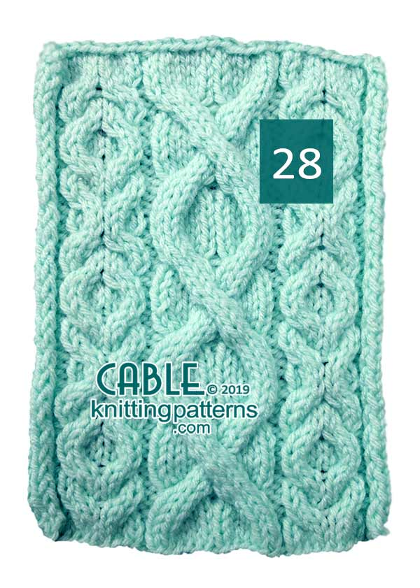 Cable Knitting Pattern 28