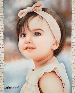 رسم طفلة