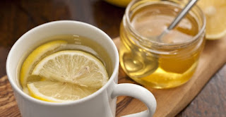 Lemon And Honey Water In The Morning