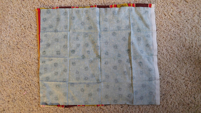 Quilting and fabric scraps used to make dog and cat beds