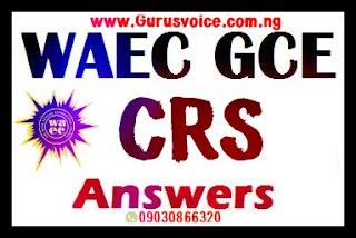 WAEC Gce 2019 Crs Runz