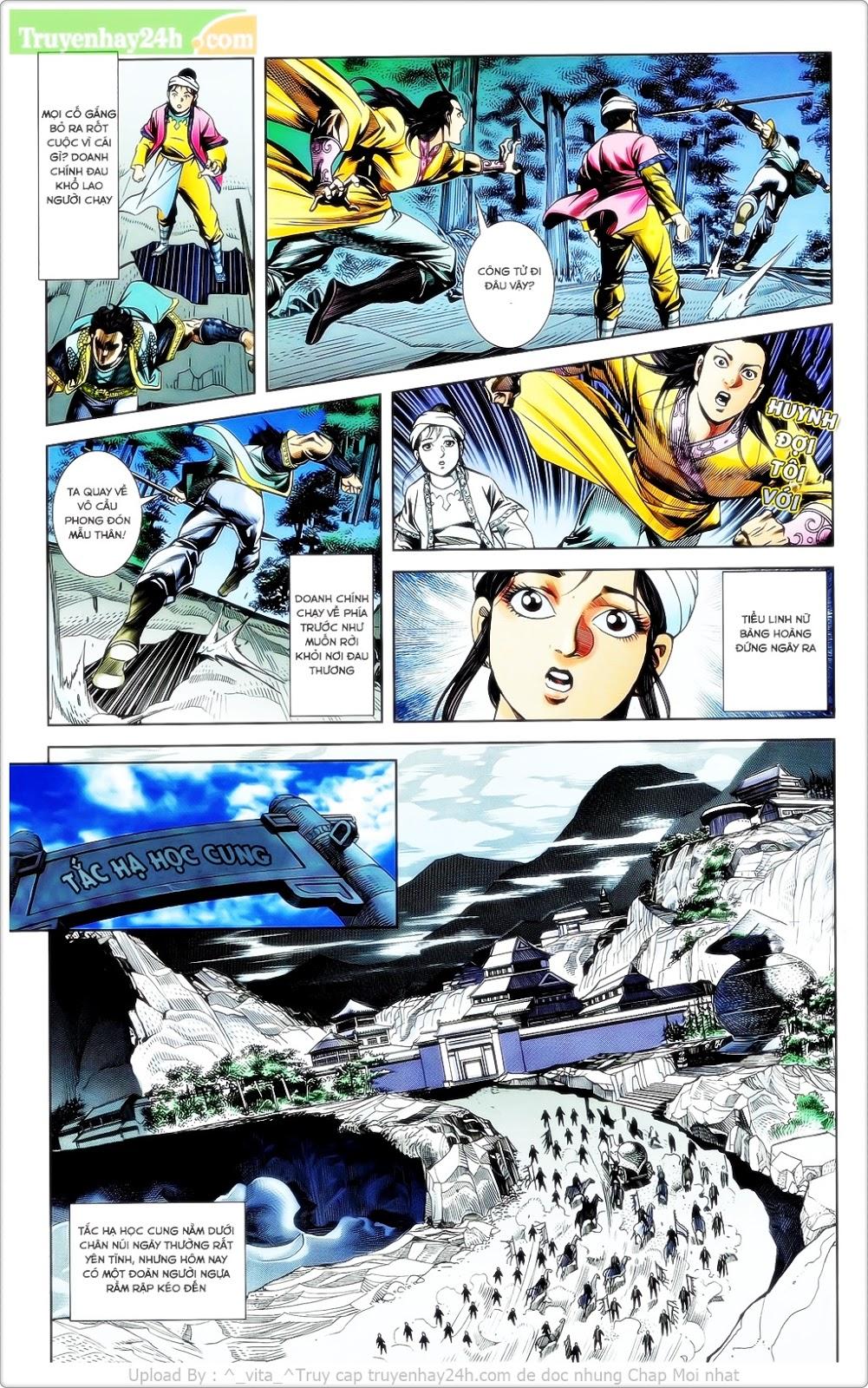 Tần Vương Doanh Chính chapter 23 trang 6