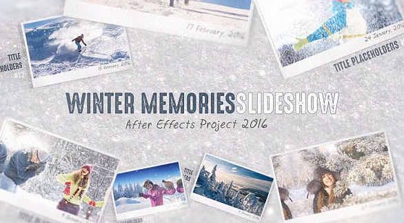 Projects – VideoHive – Winter Memories – 14421393 [AEP]