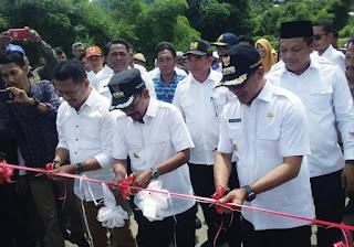 Jembatan Dodu I Diresmikan, Walikota: Bukti Pembangunan Dimulai dari Timur