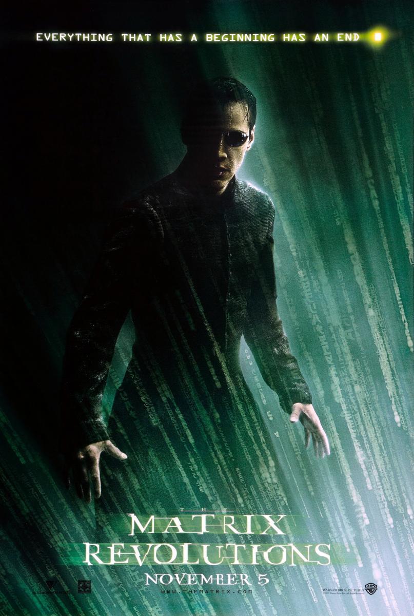 Download The Matrix Revolutions (2003) Full Movie in Hindi Dual Audio BluRay 1080p [2GB]