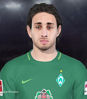 PES 2018 Faces Ishak Belfodil by Tiitoo