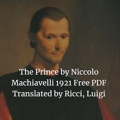 The Prince by Niccolo Machiavelli 1921