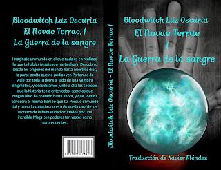 "Couverture de ""El Novae Terrae 1"", de Bloodwitch Luz Oscuria, traducido por Xavier Méndez"
