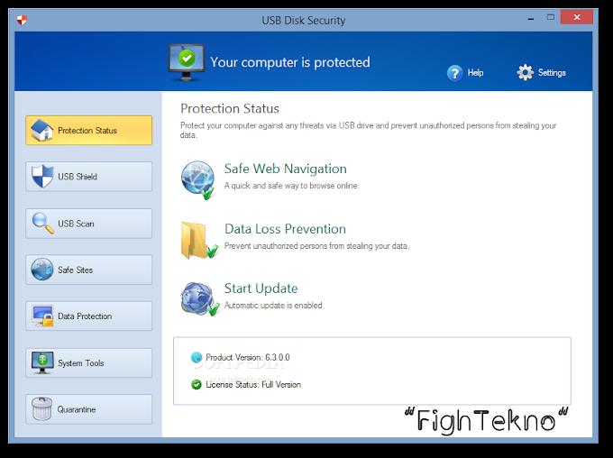 USB Disk Security 6.7 Full Türkçe İndir