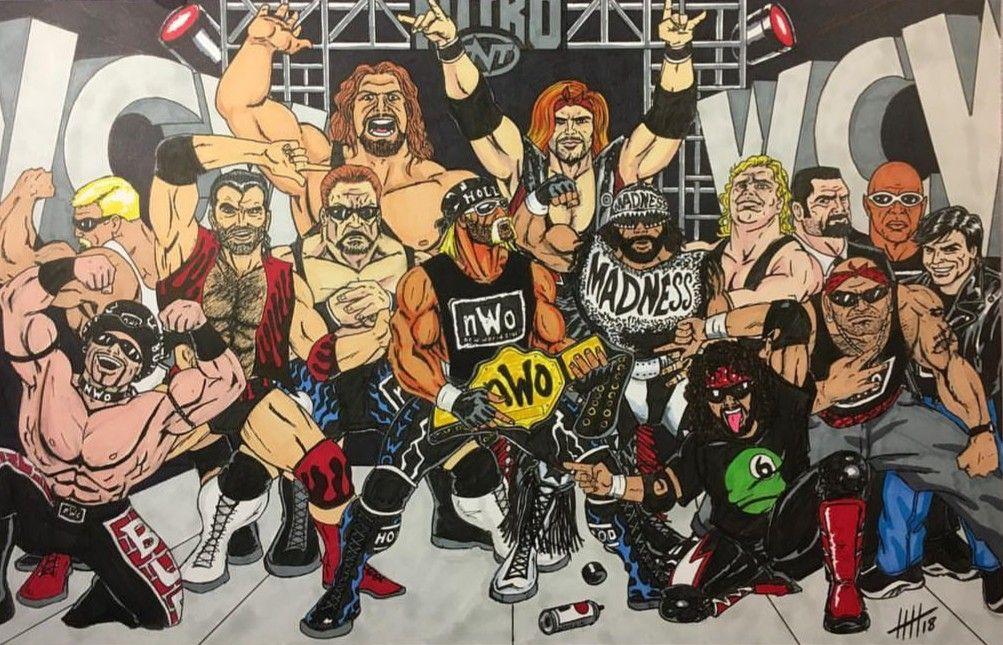 Divulgadas imagens de desenho animado da WCW que nunca foi ao ar