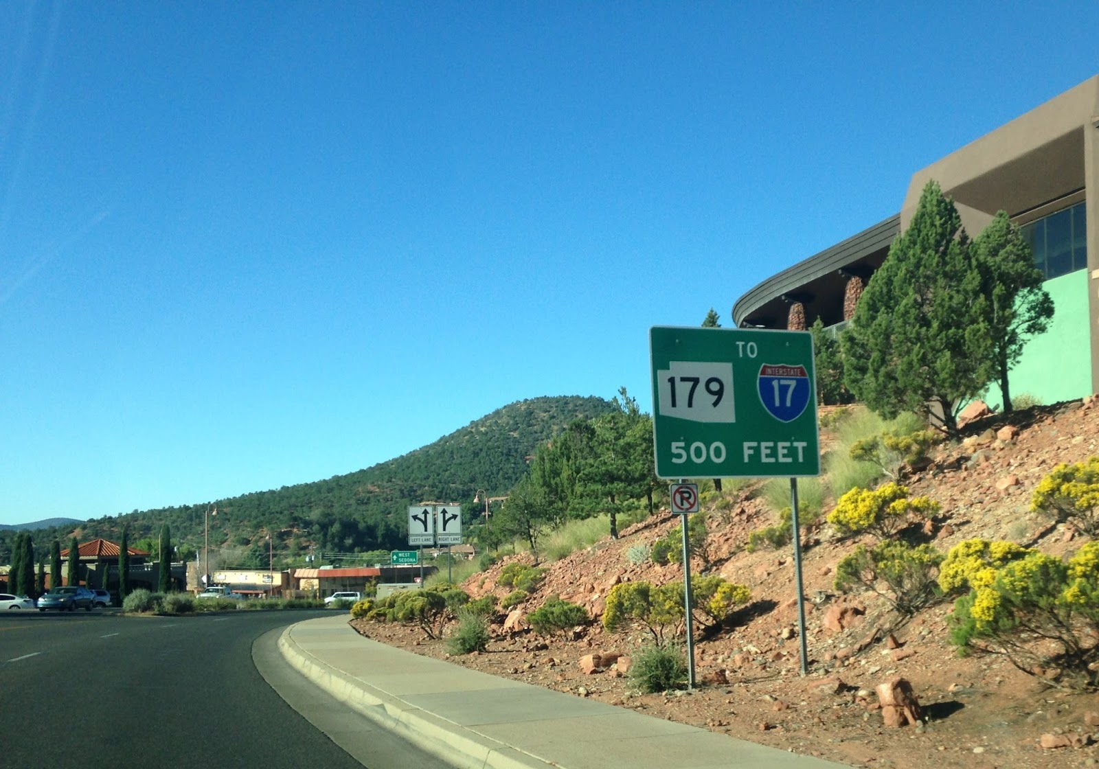az 179 is a 14 5 north south route running from i 17 to az 89a former us 89a in sedona parts of az 179 were designated in 2006 as the red rock scenic by