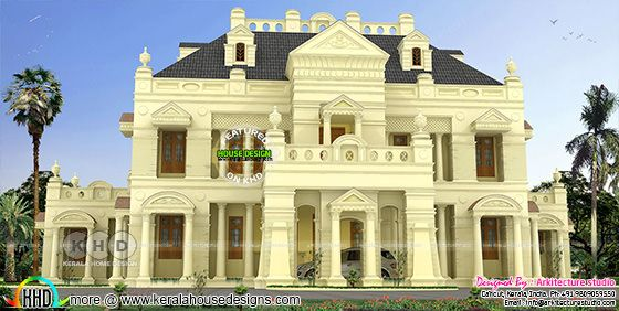 Luxury Colonial villa design